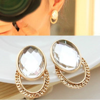 NT0159 Gold Retro Earrings
