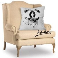 logo graphics chanel For Pillow Cover and Pillowcases