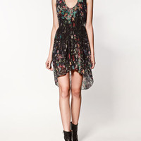 COMBINED PRINT DRESS - Collection - Dresses - Collection - Woman - ZARA United States