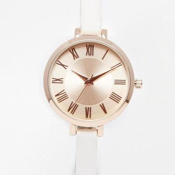 New Look | New Look Clean Dial Watch at ASOS