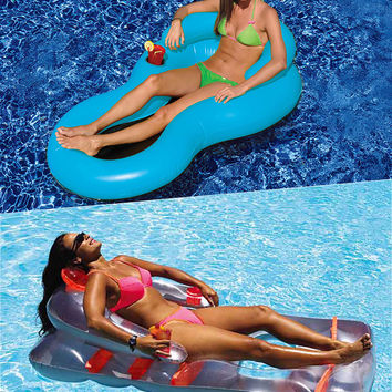 Swimline Deluxe Lounge and Cool Chair Combo Pack