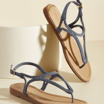 A Plait on Words Sandal | Mod Retro Vintage Sandals | ModCloth.com