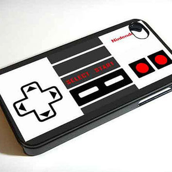 nintendo controller gray - iPhone 4 Case ,iPhone 5 case,samsung galaxy s3 and Samsung galaxy s4 Hard Plastic Case