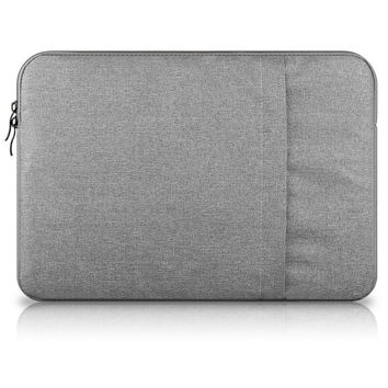 2016 New Portable Soft Sleeve Laptop Bags Zipper Notebook Laptop Case Pouch Cover for Macbook Air Pro Retina 13 Inch 15 Inch
