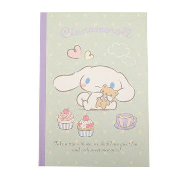Cinnamoroll B5 Notebook: Sweets & Hearts