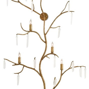 Currey Company Forest Light Wall Sconce