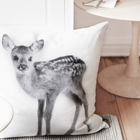 Baby Deer Decorative Pillow