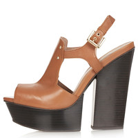 LUCKIER Hi-Vamp Wedge Heels - New In This Week - New In - Topshop