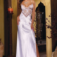 Romantic Honeymoon Gown 8461 Dreamgirl To Have and To Hold