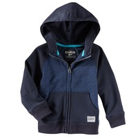 OshKosh B'gosh Full-Zip French Terry Hoodie - Boys