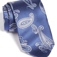 Men's David Donahue Paisley Silk Tie, Size Regular