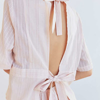 SIR the label Alessa Tie-Back Top | Urban Outfitters