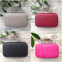 Unique Design Lovely Hard Case Clutch