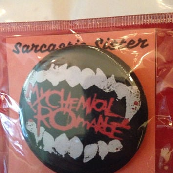 My Chemical Romance 2.5 Inch Pinback Button