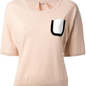Nº 21 Pocketed Sweater Top