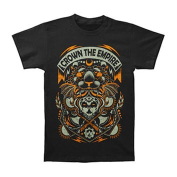 Crown The Empire Men's  Axe T-shirt Black Rockabilia