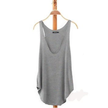 2017 Hot New Fashion Summer Tops for Women Lady  Sleeveless V-Neck Vest Loose Camisole 6 Color Free Shipping