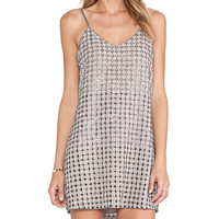 Parker Perry Dress in Taupe