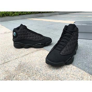 "Air Jordan 13 ""Black Cat"" 3M Men Women Basketball Shoes"