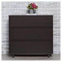 Modern 3 Drawer Dresser Espresso - Room Essentials™