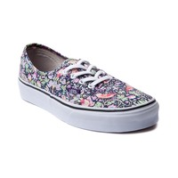 Vans Liberty Fabric Authentic Skate Shoe, Navy | Journeys Shoes