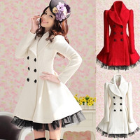 Women Slim Wool Double Breasted Lapel Trench Winter Coat Long Jacket Outwear 7_S = 1916379140