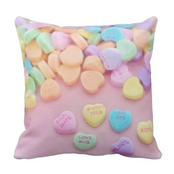Claire Blossom 2way Marshmallows&sweets Throw Pillow