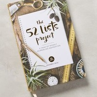 The 52 Lists Project by Anthropologie in Green Size: One Size Books