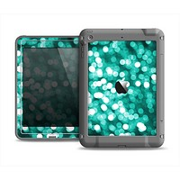 The Unfocused Teal Orbs of Light Apple iPad Mini LifeProof Fre Case Skin Set