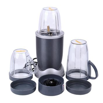Portable Blender Food Processor Mixer Juicer Smoothie Ice Crush Maker 600W