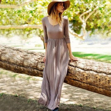 Spirit Meadow Maxi Dress