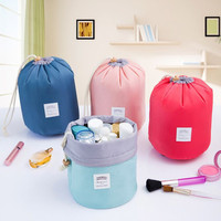 New Fashion Travel Makeup Bag Handbag  Cylindrical