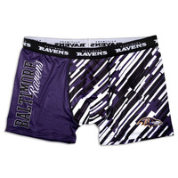 Baltimore Ravens KLEW Forever Collectibles Compression Boxer Shorts Sizes S-XXL