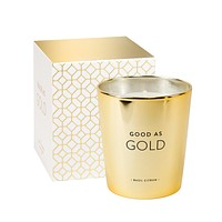 Good as Gold Candle in Basil Citron Scent with Soy Wax