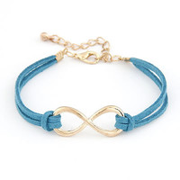 Awesome Blue Personality Infinity Bracelets