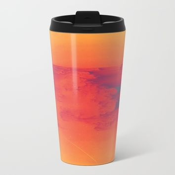 Body Heat Metal Travel Mug by DuckyB