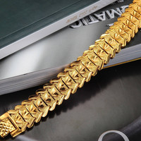 Gift New Arrival Hot Sale Shiny Great Deal Stylish Awesome Men Jewelry Chain Bracelet [10422077763]