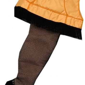 A Christmas Story Leg Lamp Stocking