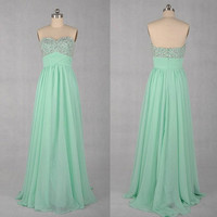 free shipping unique design strapless sequins formal evening dresses/prom dress/party dress