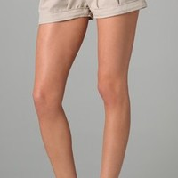 T-Bags Pleated Shorts