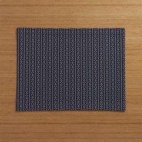 Brogue Navy Placemat