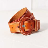 Cooperative Wide Stitch Leather Belt - Urban Outfitters