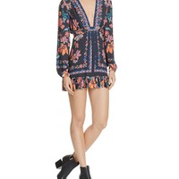 Free PeopleViolet Hill Printed Tunic Dress