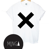 CROSS the XX t shirt top retro hipster swag dope yolo vtg punk handmade womens mens funny dope fashion custom music band