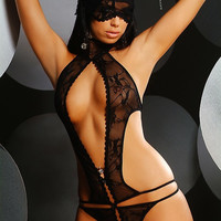 Hot Deal Cute On Sale Sexy Underwear One-piece Exotic Lingerie [4919823236]