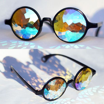 2017 Round Kaleidoscope Sunglasses