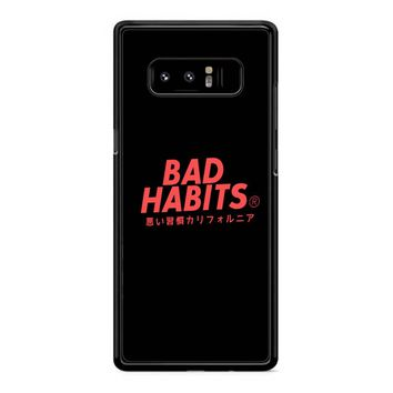 Bad Habits Samsung Galaxy S8 Plus Case