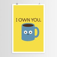 David Olenick Coffee Talk POSTER