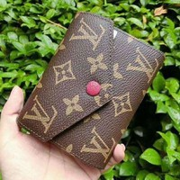 DCCKU62 LV Louis Vuitton Women Shopping Leather Handbag Tote Wallet Purse