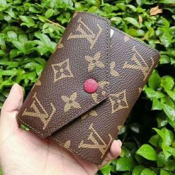 LMFON Tagre? LV Louis Vuitton Women Shopping Leather Handbag Tote Wallet Purse